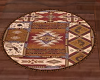 South West Oval Rug