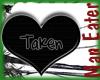 ! Taken heart  sticker