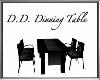 Black Elegant Dining Tab