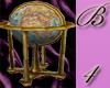 *B4* Luxury World Globe