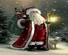 Santa Round Rug #2