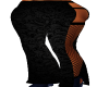 Gothic Black Flare Pants
