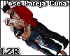Couple Pose Cradle Bed