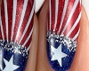 *C* 4th Of July Nails