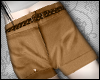 iT/Brown High Wst Shorts