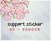Support sticker 8k