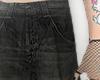 baggy black jeans