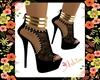 Blk/Gold Runniz Shoes