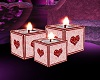 Valentine Pink Candle