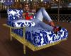 Blue/White&Gold  Lounge