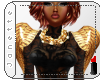 Epaulette Wings- Gold
