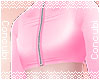 Zipped Croptop |Pink