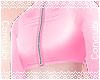 Zipped Croptop |Pink