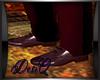 DQ Dark Red Dress Shoe M