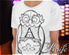 ♆ Owl and Skull