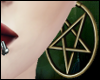 \/ Gold Pentagrams