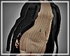 qSS! Coat Black Unisex
