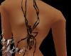Spider back tattoo