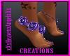Purple Flower feet
