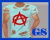 """GS"" RIPPED SHIRT #6"
