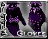 (Violet Poizon Gloves(M)