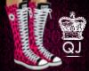 Q|J-Converse-PinkLeopard