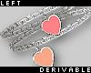 Heart Bracelets L rev.