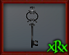 Fancy Key Decor Black