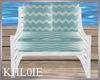 K rustic beach chair