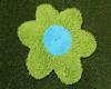 Rug Flower Green