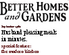 (mm) Better homes fore