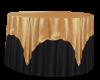 Black & Gold Cake table