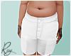 Chubby White Shorts Cstm