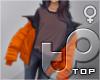 TP Open Bomber - Orange