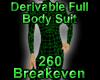 Derivable Full Body Suit