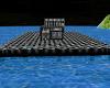 casa no meio do mar