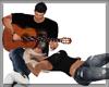 ! COUPLE GUITAR LAY POSE