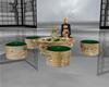 Snake Skin Table Set