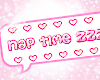 nap time sign <3
