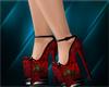 red/blkrose~dinger~heels