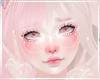 Cute Kawaii Pastel Pink White Fistnet Peace