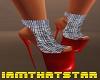 Red Sparkle Heels