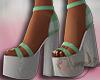 ~A~ Stella Heels Green