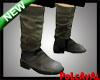 Military Biker Boots