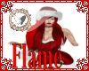santa hat red hair