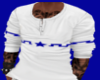 ![M]Top White Star Blue