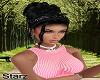 Amity Black Silk