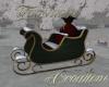 (T)Santa's Sleigh Decor