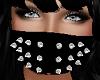 Black Spiked Mask