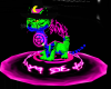 Neon Tiger Witch Cat 2